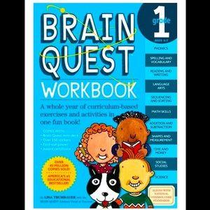 🌈3/$20~ Gr. 1 Brain Quest Workbook
